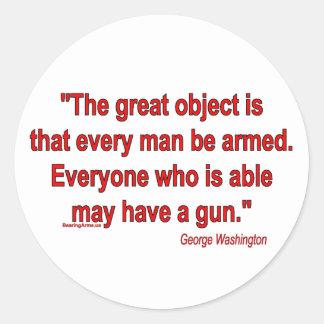 軸受け腕のジョージ・ワシントンの取得 ラウンドシール