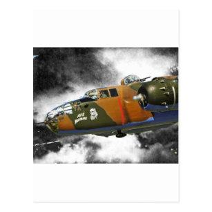 軸線Nitemare B-25 ポストカード