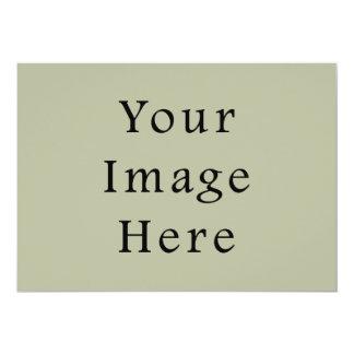 軽いカムフラージュの緑色の傾向のブランクのテンプレート カード
