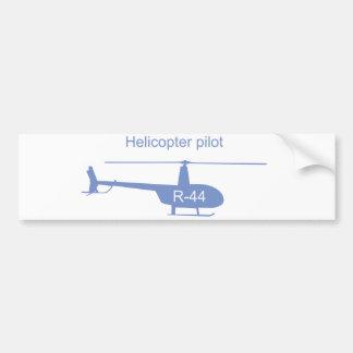 軽いヘリコプターのバンパーステッカー バンパーステッカー