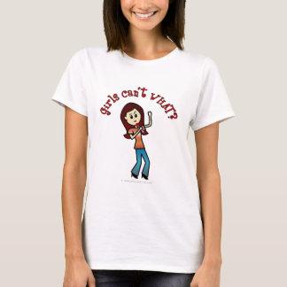 軽いボーカリストの女の子 Tシャツ