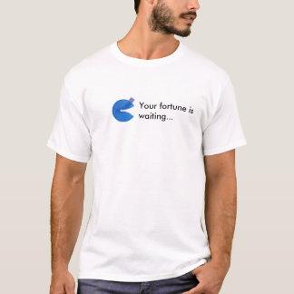 軽いワイシャツを言うカスタムなおみくじ入りクッキー Tシャツ