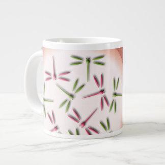 軽い円のトンボ ジャンボコーヒーマグカップ