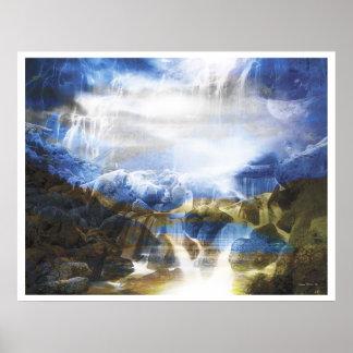 軽い抽象芸術13: 愛の地獄 ポスター