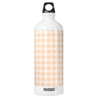 軽い杏子のギンガム ウォーターボトル