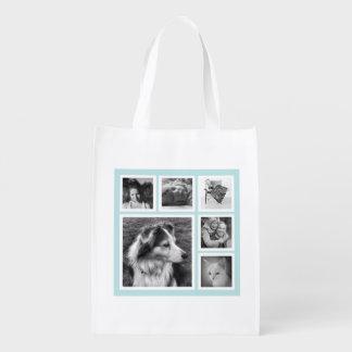 軽い水の女の子6のInstagramのモダンな写真 エコバッグ
