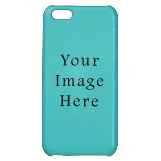 軽い水青い色の傾向のブランクのテンプレート iPhone5C カバー
