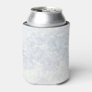 軽い花パターン背景のテンプレート 缶クーラー