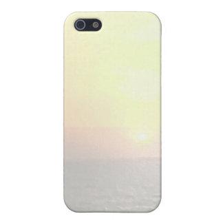 軽い陰のブランクの背景-日光トロント iPhone SE/5/5sケース