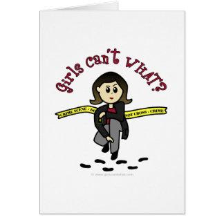 軽いCSIの女の子 カード
