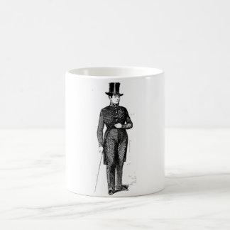 軽快で若い紳士 コーヒーマグカップ