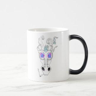 軽快なフェスティバルのドラゴン マジックマグカップ