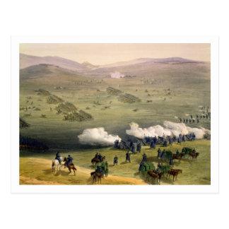 軽騎兵の組の充満、10月25日 ポストカード