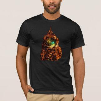 輝いている宇宙探検家 Tシャツ