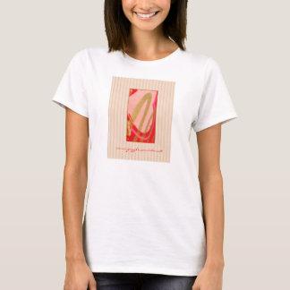 輝きのしぶき! 女性のTシャツはgretchen Tシャツ