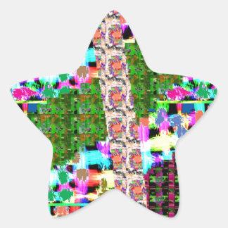 輝きのサービス品のリターンギフト子供へNのお母さん 星シール