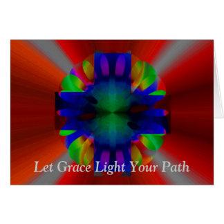 輝きの十字 グリーティングカード