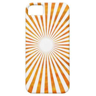 輝きの日曜日のチャクラ-使用ヒマワリの花弁色 iPhone SE/5/5s ケース