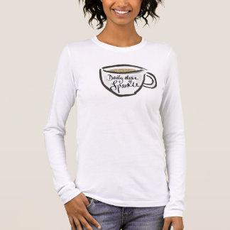 輝きの毎日の線量 長袖Tシャツ