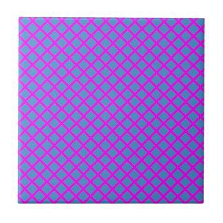 輝きの濃紺の紫色の十字のダイヤモンドの形のギフト タイル