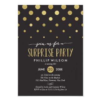 輝きの点の驚きのパーティの招待状 カード