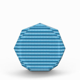 輝きの青い美術パターンDIYは文字の写真99を加えます 表彰盾