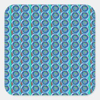 輝きのBlueStar青いディスク: 低価格NAVIN JOSHIによって スクエアシール