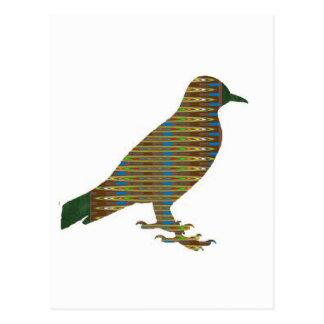 輝きはNAVIN Joshiの低価格のギフトによって鳥を絵を描きました ポストカード