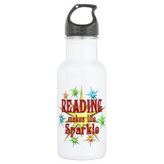 輝きを読むこと ウォーターボトル