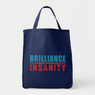 輝き対精神異常のバッグ-スタイル、色を選んで下さい トートバッグ