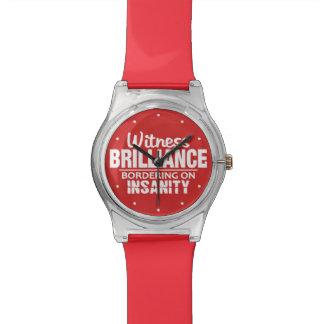 輝き対精神異常カスタムな色の腕時計 腕時計