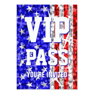 輝き米国「VIPパス」の招待 カード