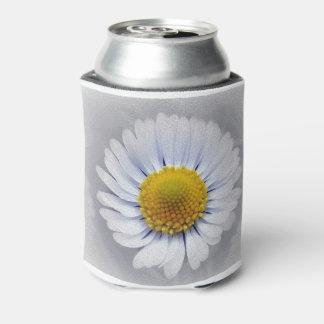 輝くで白いデイジー 缶クーラー