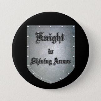輝くな装甲の騎士 7.6CM 丸型バッジ