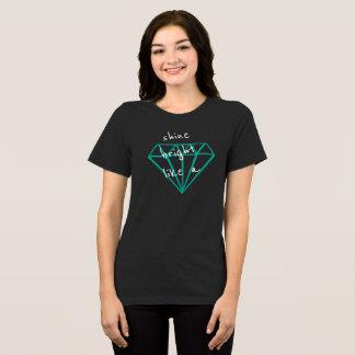 輝やきのダイヤモンドのTシャツ Tシャツ