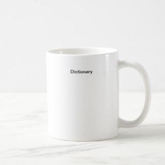 辞書 コーヒーマグカップ