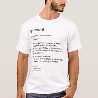 辞書: 知らない Tシャツ