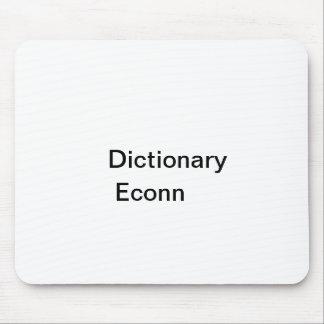 辞書、Econn マウスパッド