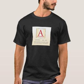 辞書Aのティー Tシャツ