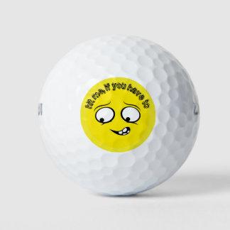 辞職された黄色いEmoji ゴルフボール