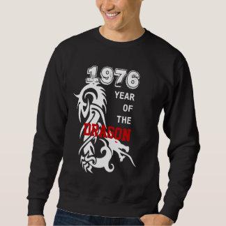 辰年の入れ墨のティーのカスタムなグループ1976年 スウェットシャツ