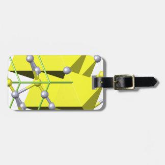 辰砂の分子 ラゲッジタグ