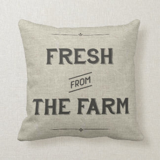 農場から新しいヴィンテージの農場の枕- クッション