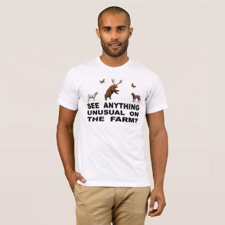 農場で珍しい何でも見て下さいか。 Tシャツ