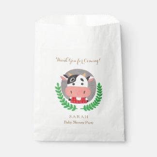 農場のテーマ-かわいい牛好意のバッグ フェイバーバッグ