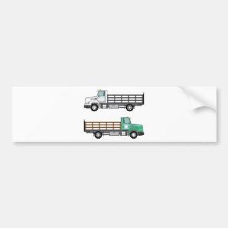 農場のトラック バンパーステッカー
