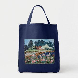 農場のトートバックのバラ トートバッグ