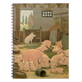 農場のブタそしてコブタ ノートブック