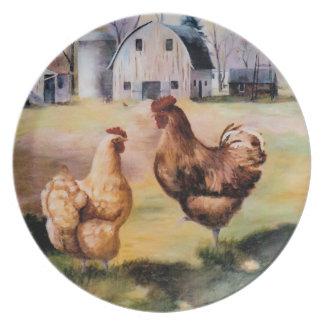 農場のプレート プレート