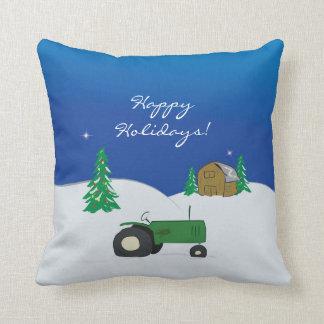 農場の休日の枕 クッション